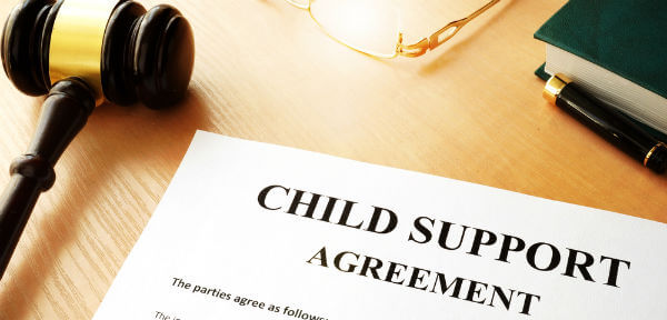 how to get back child support in Texas after 18
